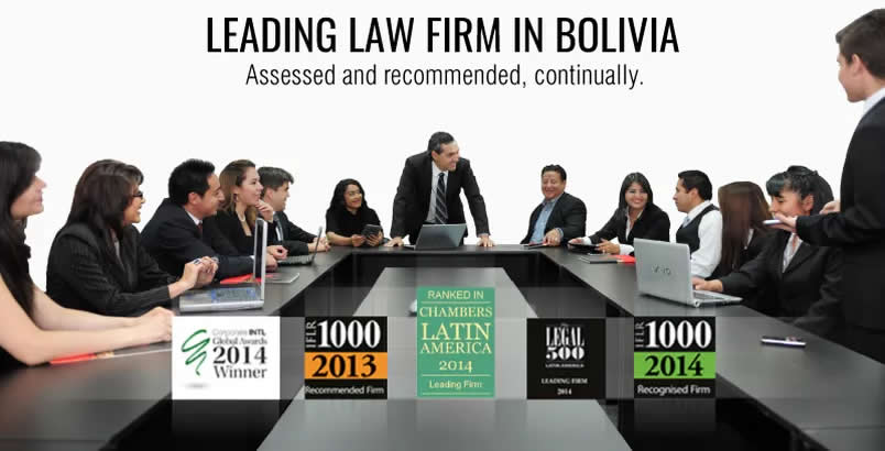 Leading law firm in Bolivia