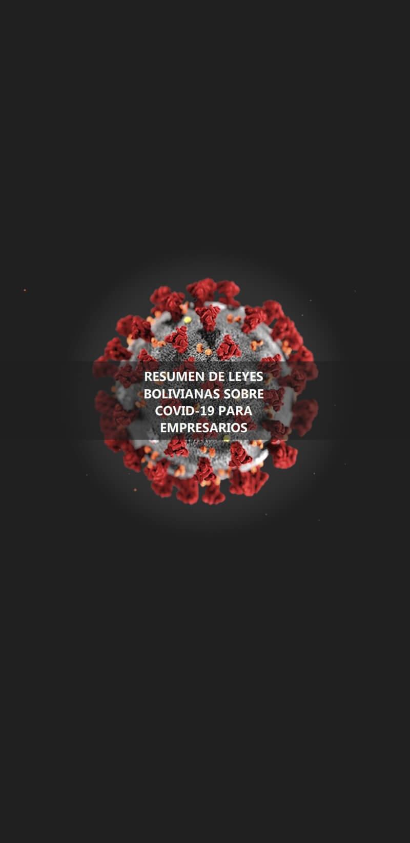 Leyes sobre el coronavirus para empresarios