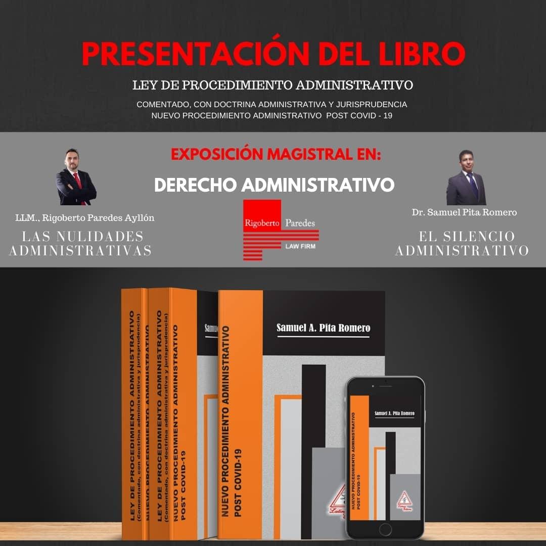Presentacion del libro ley de procedimiento administrativo